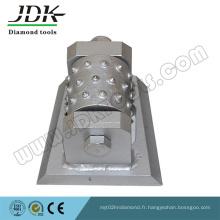 Marteau à diamant de diamant pour le meulage de pierre