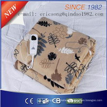 Comfortable Fleece Electric Blanket with Ce Certificate for EU Market