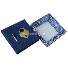 High Quality Gift Packaging Lock and Key Paper Box with Window