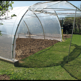 Rumah PE Span Single Span Greenhouse