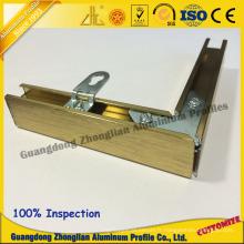 Profil en aluminium d'extrusion pour le cadre en aluminium de décoration