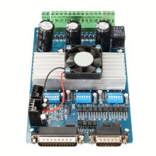 Mach 3 5 axis breakout board for stepper motor driver