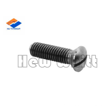 GR5 titanium Slotted raised countersunk head screw din964