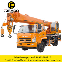 Truck Mounted Boom Basket Lift Crane