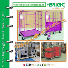 laundry store coloured mini roll cage