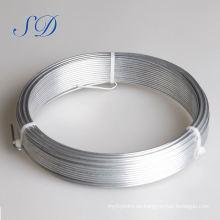 El plástico interno que embala el alambre galvanizado galga 3m m 4