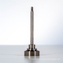 Carb Cap Nail Titanium para el humo con Flat Dabber (ES-TN-027)