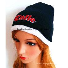 100% acrylique, Bonnet en tricot tricoté