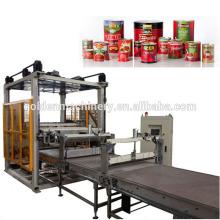 Palettiermaschine für leere Dosen für Lebensmittel- und Getränkedosen