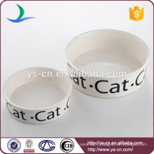 China Supplier Ceramic Pet Bowl For Pet Feeding