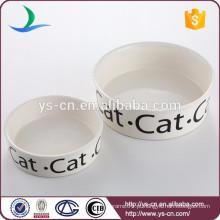 Fornecedor China Ceramic Pet Bowl Para Pet Alimentação