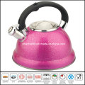 3L Color Stainless Steel Tea Kettle