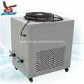 Small injection moulding machine hydraulic oil water chiller