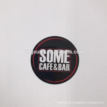 O papel adesivo quente da impressão da etiqueta confidencial das vendas personalizou em volta da etiqueta do projeto do logotipo