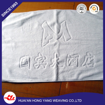 100%Cotton Hotel White 21s/2  32s/2 20*31 inch  Floor Bathroom Mat