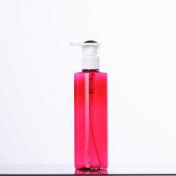 Rote Lotion Kunststoff Pumpflasche für Kosmetik (NB20002)
