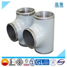 De alta calidad ASTM A234 Wp11 Wp12 aleación de acero igual Tee