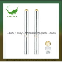 4′′ Cheap Sale Factory Price Brass Outlet Deep Well Submersible Water Pump (4SD8-08/1.1KW)