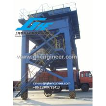Trémie de ciment portuaire mobile