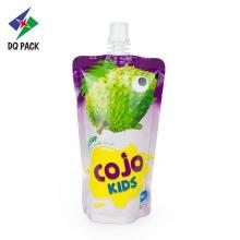 Индивидуальная упаковка детского сока с печатью