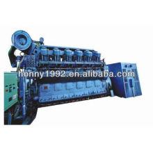Niedrige Geschwindigkeit China Diesel & HFO 750 U / min Generator