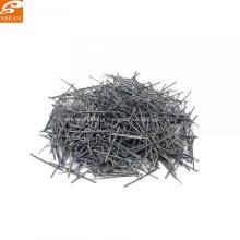 Fibra de aço inoxidável chapeamento de cobre de fibra de aço