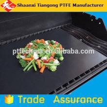 Almohadilla antiadherente para barbacoa de alta temperatura PTFE de grado alimenticio