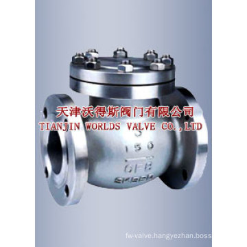 Stainless Steel ANSI Swing Check Valve (H44H-10/16/25)