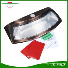Kreative Cambered 8 LED High Power Bewegungsmelder Solar Wandleuchte Lächeln Garten Wandleuchte Solar Treppen Sicherheitsbeleuchtung