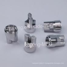 Usinage CNC à pointe de détection pour acier inoxydable