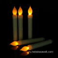 Mini Battery Operated Melted Dipped LED Stick Candle