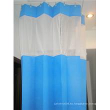 Cortinas desechables de cama de hospital cortina antibacteriana del hospital