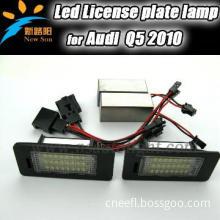 LED license plate lamp for Audi Q5/ Audi licence plate light LED