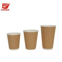 Copos de café de papel recicl de qualidade superior promocional