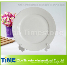"4pc 7.5"" New White Porcelain Side Plate Set"