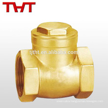 brass inline ball type 1.5 inch sewer spring loaded check valve for sump pump