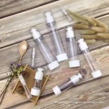En gros nouveau design luxe vide 30 ml 50 ml acrylique visage crème airless lotion cosmétique bouteille