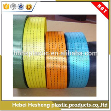 100% polypropylene PP FIBC Woven Flat webbing sling for lifting, towing and pulling