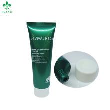 120 ml offset peau d'impression hydratant nettoyant cosmétique en plastique tube
