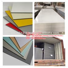 Materiais de Revestimento de Parede Externa Madeira e cores colid Composto de Alumínio +84966832808