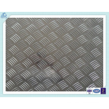 Placa Treaded aluminio 1060 3003 5052 6061