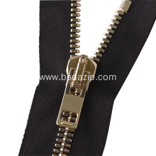 New Fashion Design for Closed End Zipper Metal No. 13 Zip chain Zipper for Handbag export to Indonesia Factory