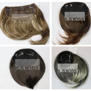 Fashion Clip on Bang Synthetic Hair