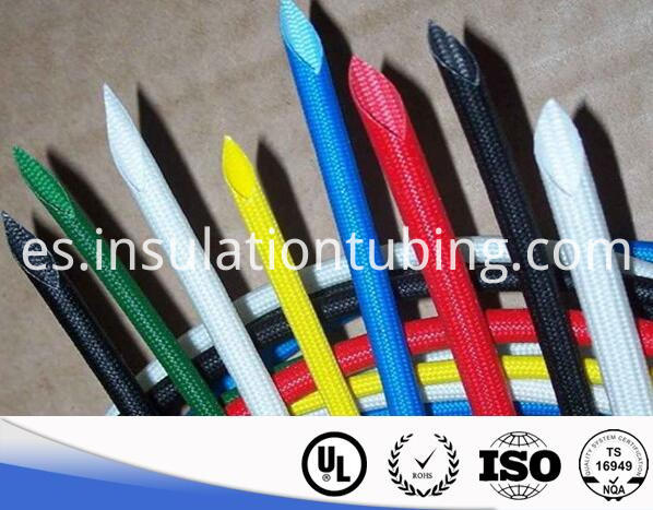 Silicone Rubber FiberGlass Braided Sleeveing