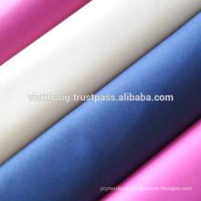100% Baumwollstoff 139*72 CM40*CM40 125gsm Leinwandbindung, Hemden aus Vietnam