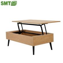 mesa de café moderna pode levantar mesa de café de madeira sala de estar
