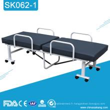 SK062-1 lit médical pliant manuel de Hospita bon marché
