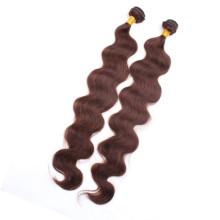 Calidad garantizada onda del cuerpo 100% virginal buen pelo peruano