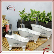 Dispensador de jabón líquido de cerámica