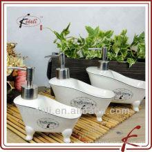 Distributeur de savon liquide en céramique